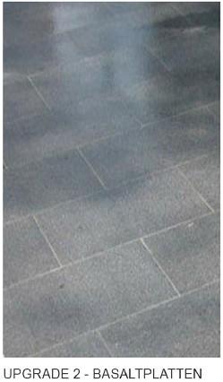 Upgrade: Basaltplatten