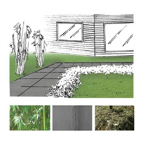 Der minimalistische Garten